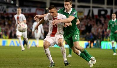 Mecz eliminacyjny mistrzostw Europy w Dublinie