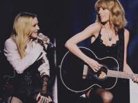 Taylor Swift i Madonna w duecie i seksownej bieliźnie na wielkiej gali [ZDJĘCIA]
