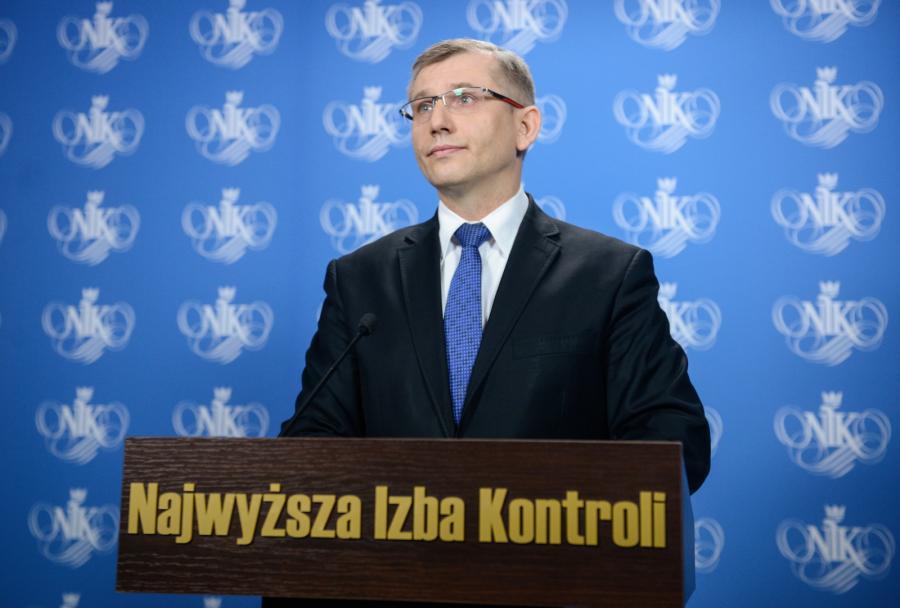 Prezes Najwyższej Izby Kontroli - Krzysztof Kwiatkowski