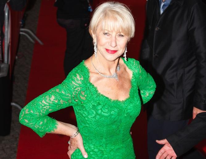 Helen Mirren już tylko w ubraniu