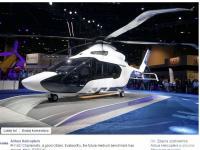 Francuzi zaprezentowali śmigłowiec przyszłości. Oto Airbus H160