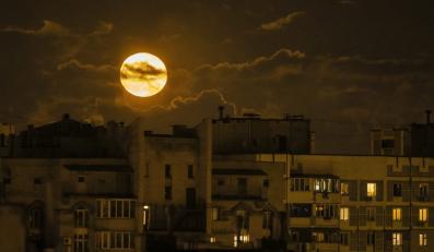 Kijów nocą