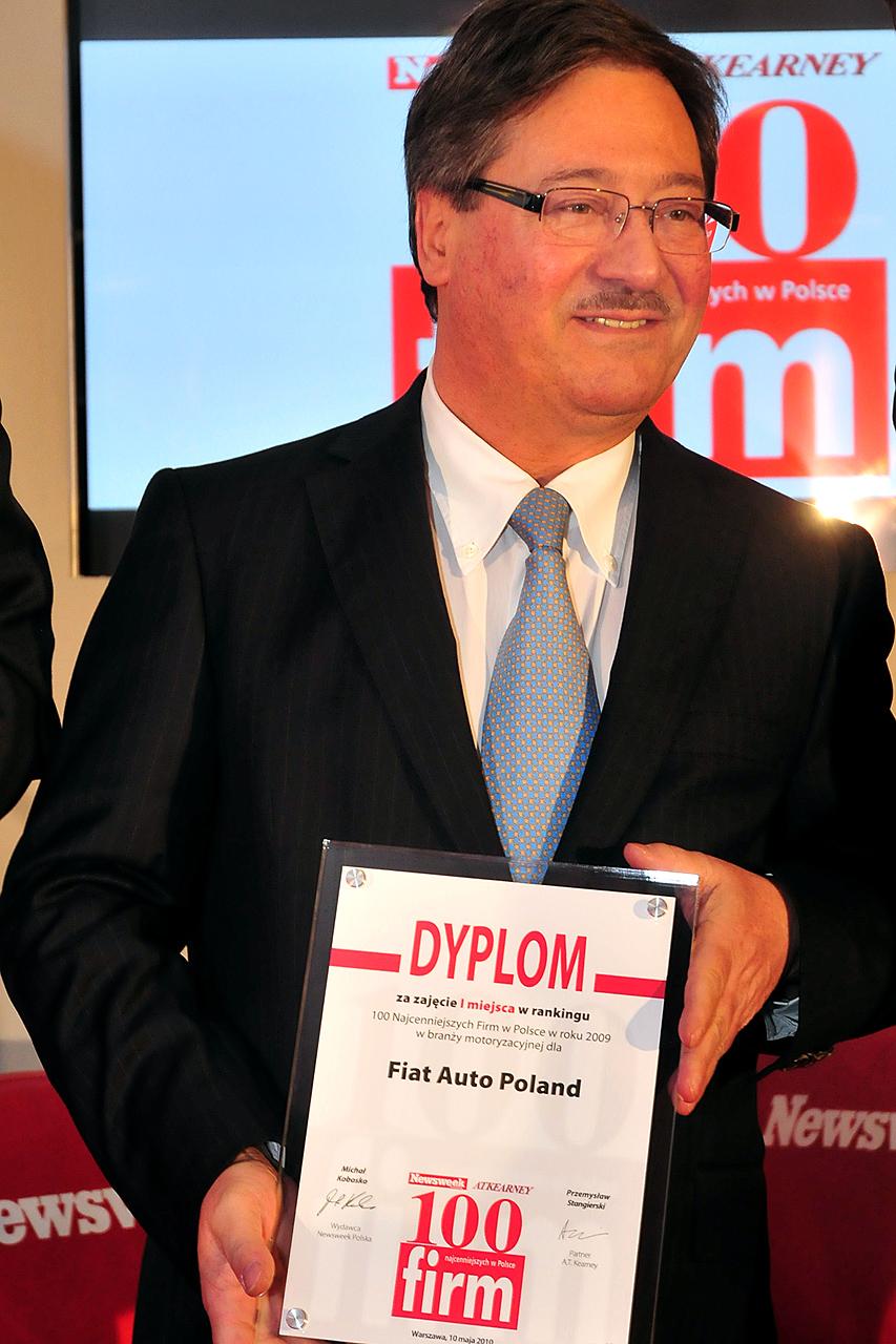 Enrico Pavoni, prezes Fiat Auto Poland