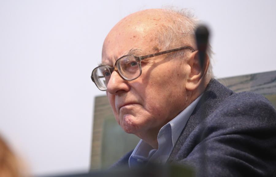 Stanisław Kociołek na sali sądowej