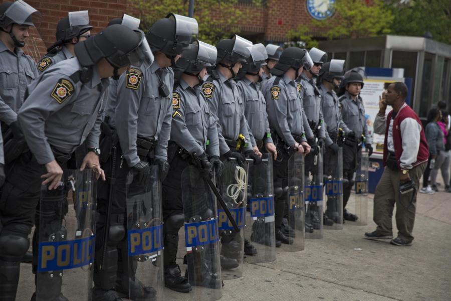 Policjanci w Baltimore