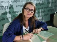 Monika Jaruzelska szlachetny wygląd ma we krwi. FOTO