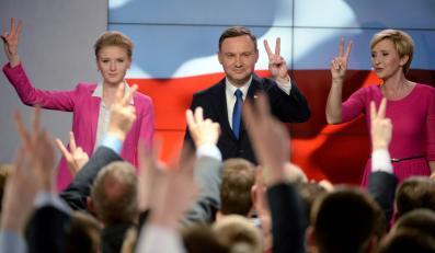 Kandydat PiS Andrzej Duda