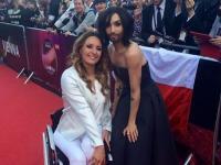 Conchita Wurst i Kuszyńska razem na gali Eurowizji