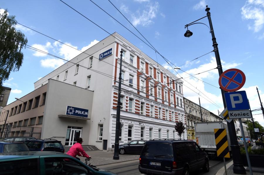 Budynek IV Komisariatu Komendy Miejskiej Policji przy ul. Kopernika w Łodzi