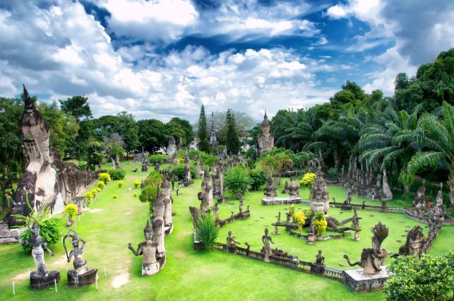 Park Buddy, Vientian, Laos