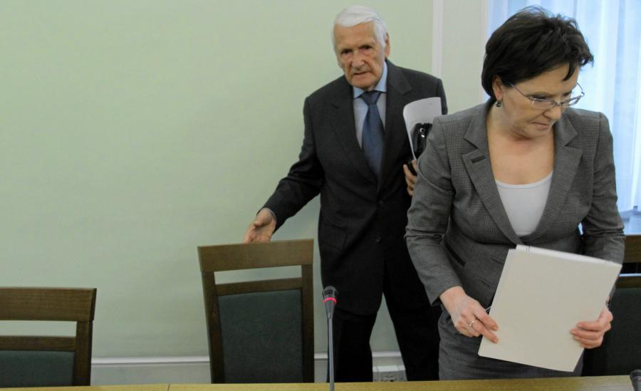 Józef Zych i Ewa Kopacz
