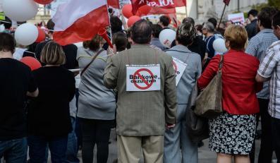Manifestacja frankowiczów