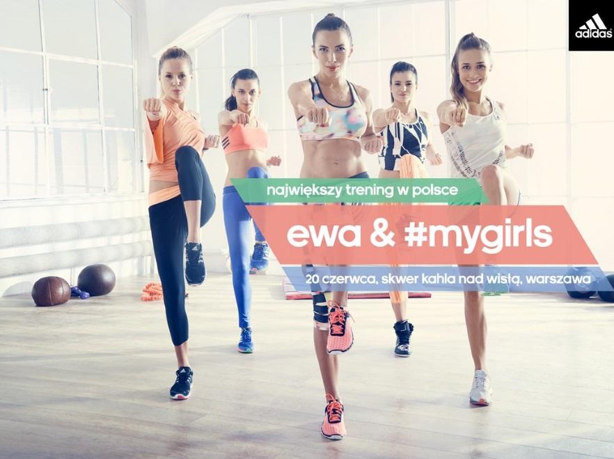 adidas Ewa & #mygirls