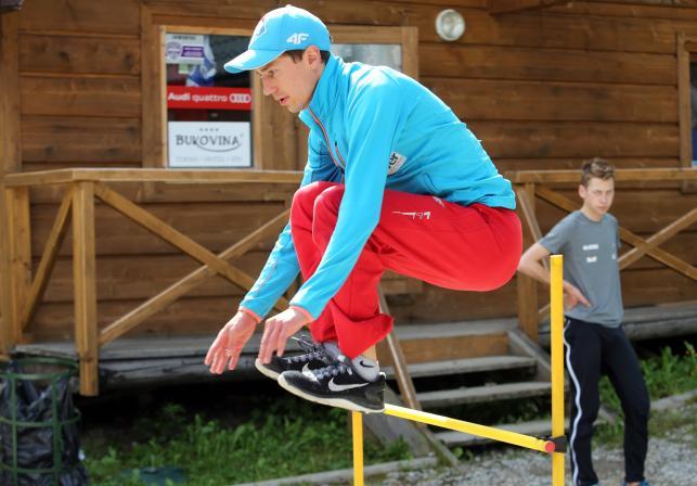 Kadra polskich skoczków narciarskich trenuje w Zakopanem