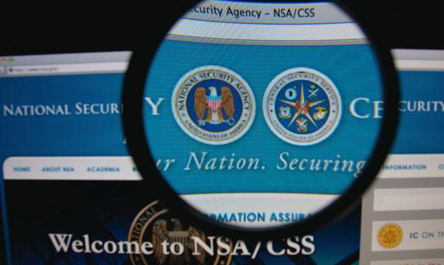 Strona internetowa NSA