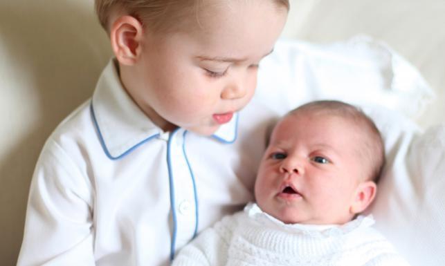 Książę Jerzy z siostrą – księżniczką Charlotte