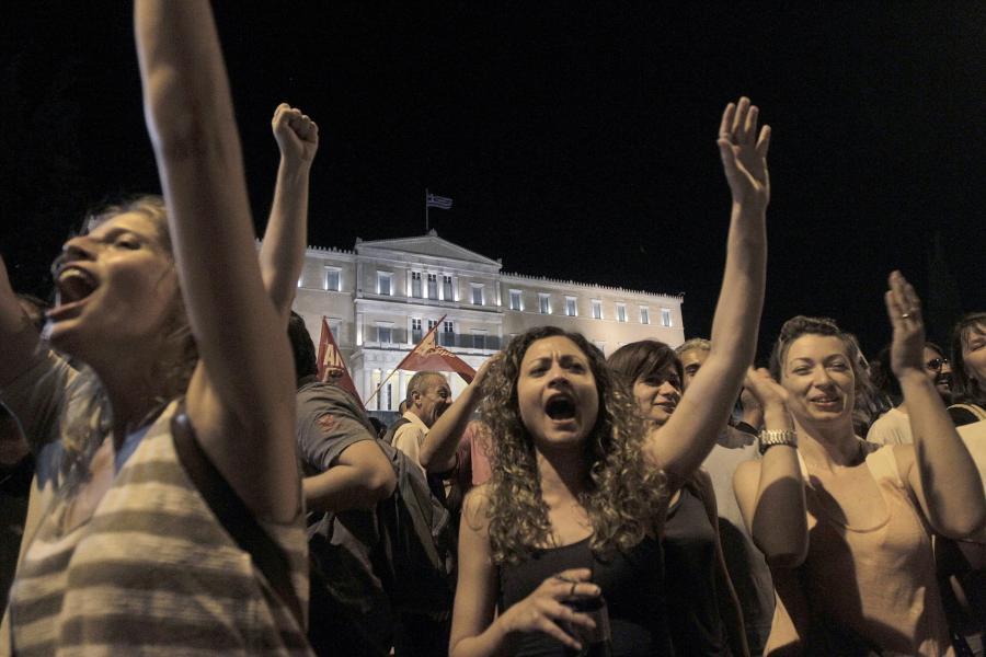 Radość po ogłoszeniu wyników referendum