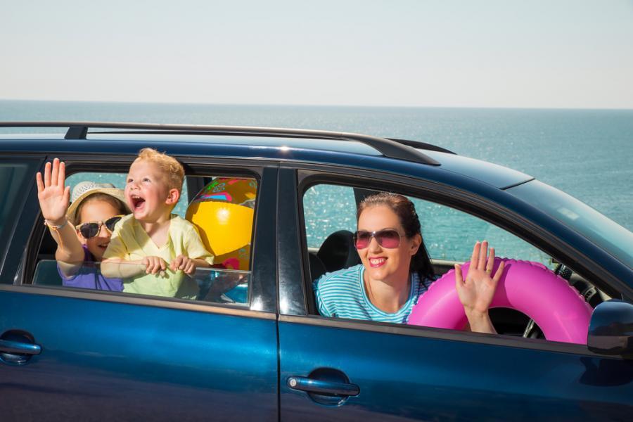 Podróż z dziećmi na wakacje