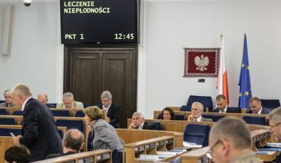 Senat, debata w sprawie in vitro