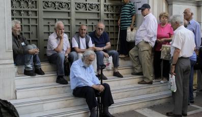Greccy emeryci w kolejce po emerytury