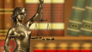 Personifikacja sprawiedliwości - Temida