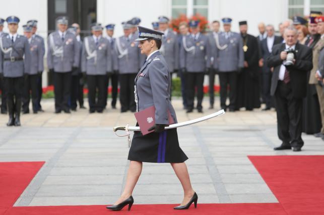 Komendant Irena Doroszkiewicz otrzymała nominację generalską
