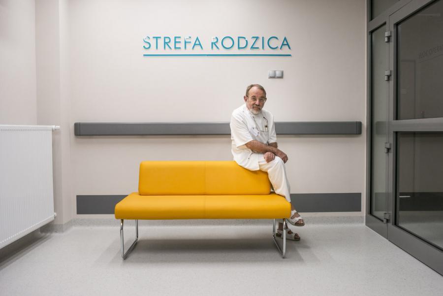 Anestezjolog dr n. med. Marcin Rawicz