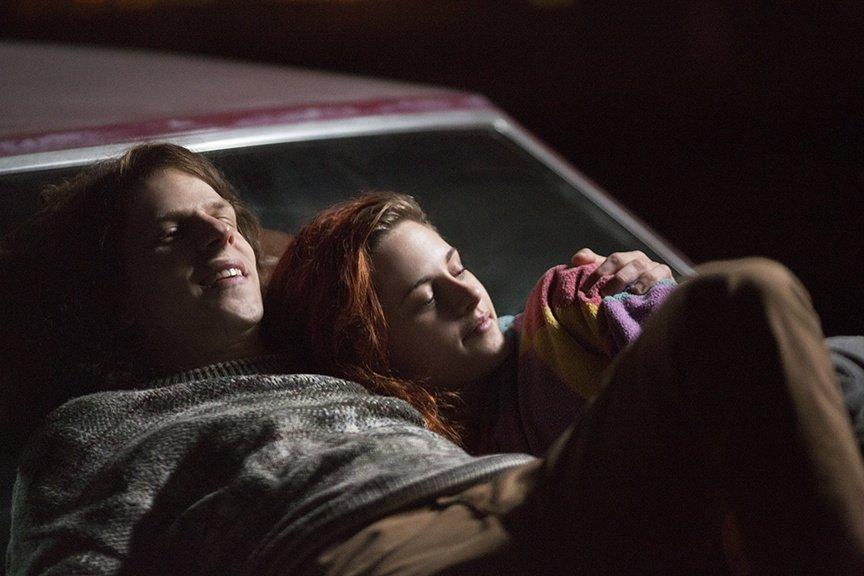 Kristen Stewart i Jesse Eisenberg w \