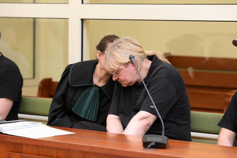 Mariusz Trynkiewicz w sądzie