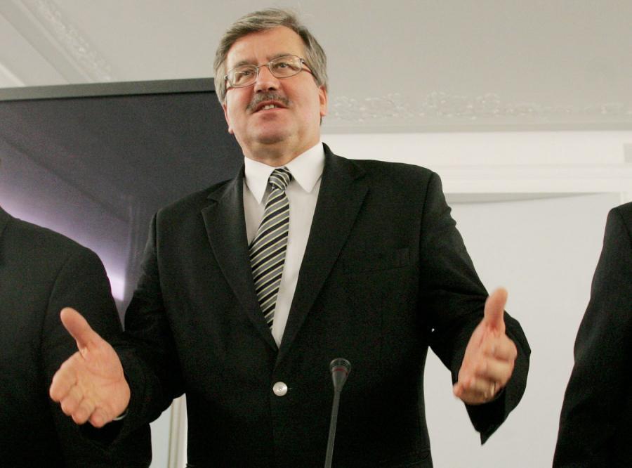 Komorowski: Jaka wizyta, taki zamach