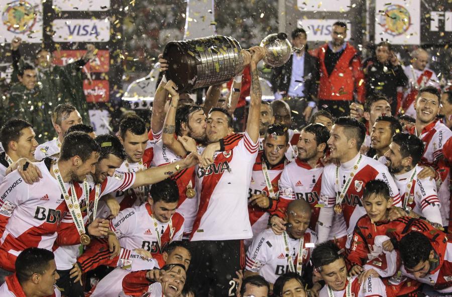 Piłkarze River Plate wygrali Copa Libertadores