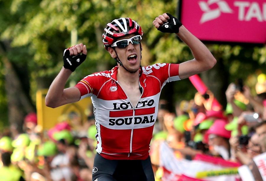 Belg Bart De Clercq z grupy Lotto Soudal wygrywa piąty etap 72. Tour de Pologne z Nowego Sącza do Zakopanego długości 223 km