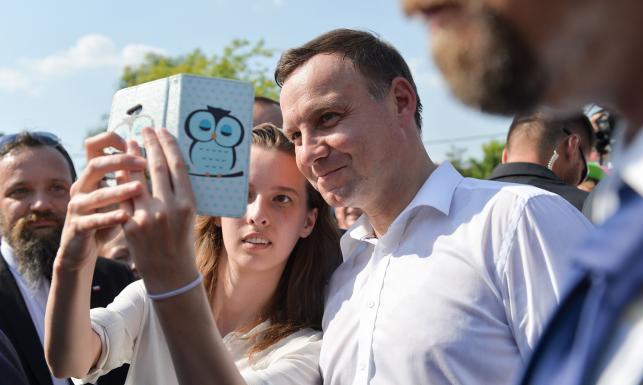 Andrzej Duda na Festiwalu Kaszy. Zobacz zdjęcia z podróży prezydenta do Janowa
