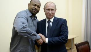 Roy Jones i Władimir Putin
