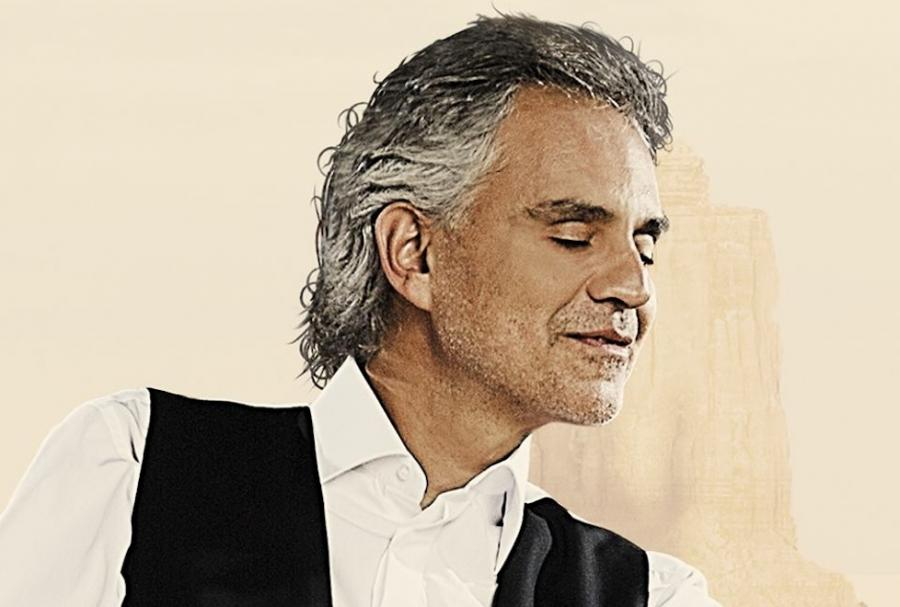 Andrea Bocelli tak jak w kinie