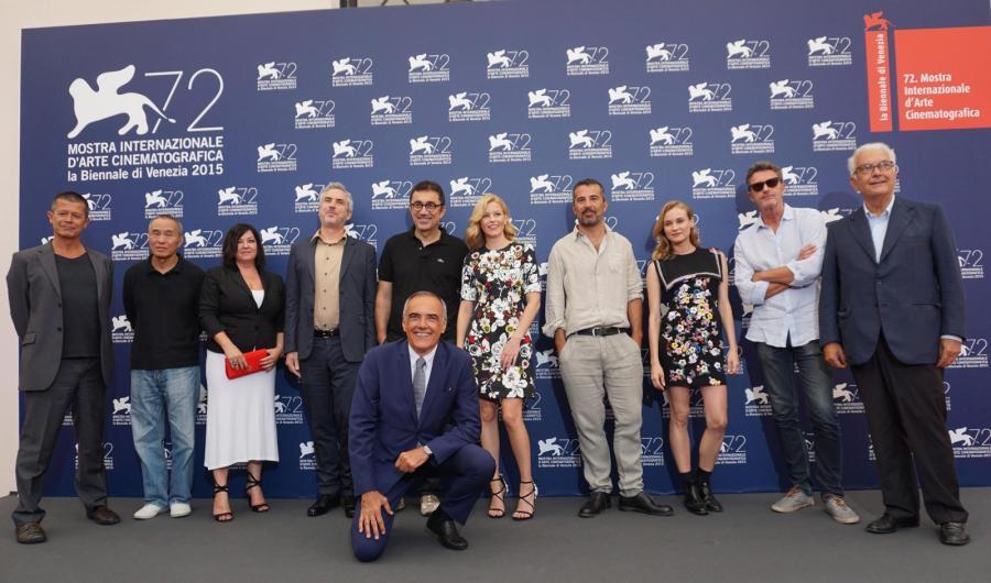 Jury 72. Międzynarodowego Festiwalu Filmowego w Wenecji