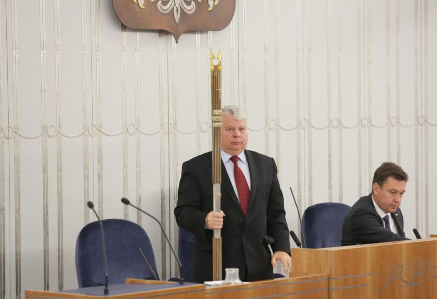 Marszałek Senatu Bogdan Borusewicz