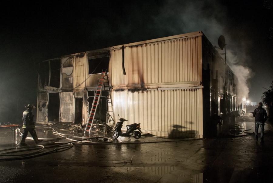 Pożar w Rottenburg