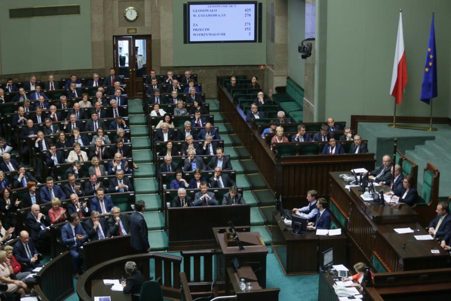 Wynik głosowania w Sejmie