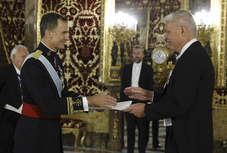 Król Filip VI z Hiszpanii