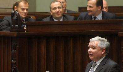 PO: Szef PiS ułożył pytanie nie do przyjęcia