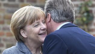 Angela Merkel i David Cameron