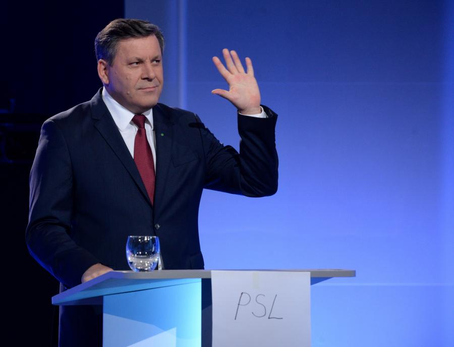 Prezes PSL Janusz Piechociński