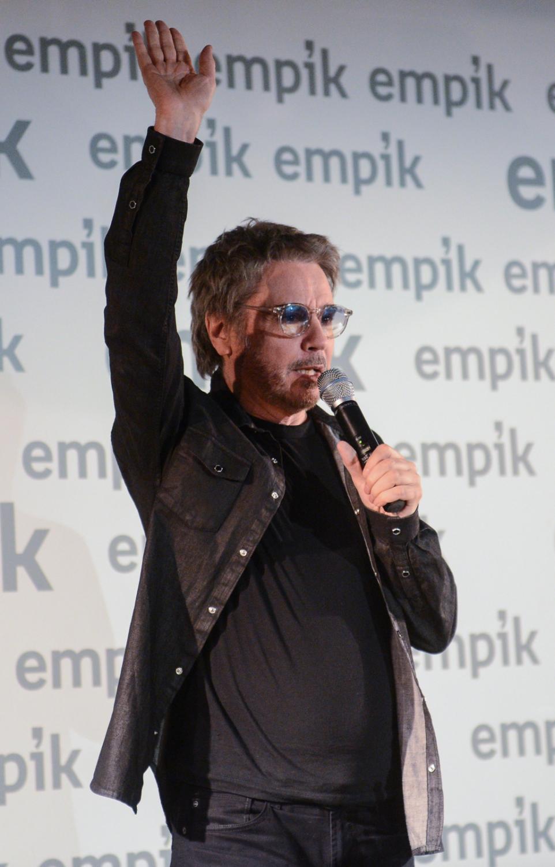 Jean-Michel Jarre podczas spotkania z fanami w Warszawie