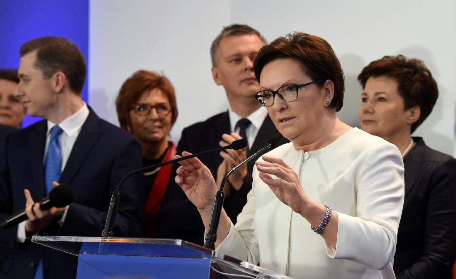 Platforma Obywatelska - 23,4 proc.