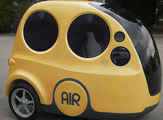 Samochód na powietrzne paliwo