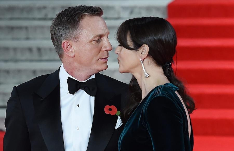 """Daniel Craig i Monica Bellucci na światowej premierze """"Spectre"""""""