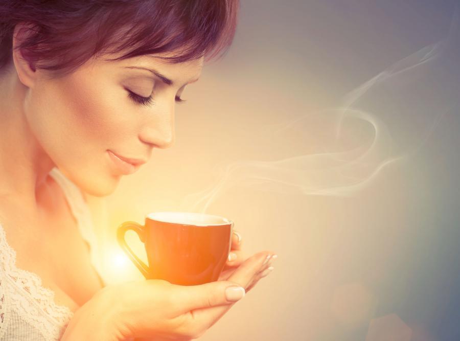Zapach kawy pomaga się rozbudzić
