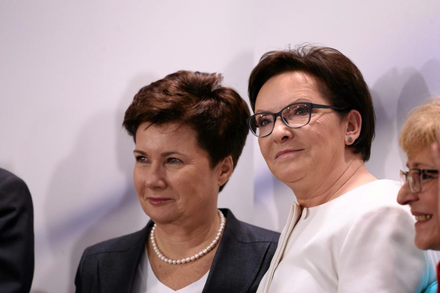 Ewa Kopacz i Hanna Gronkiewicz-Waltz