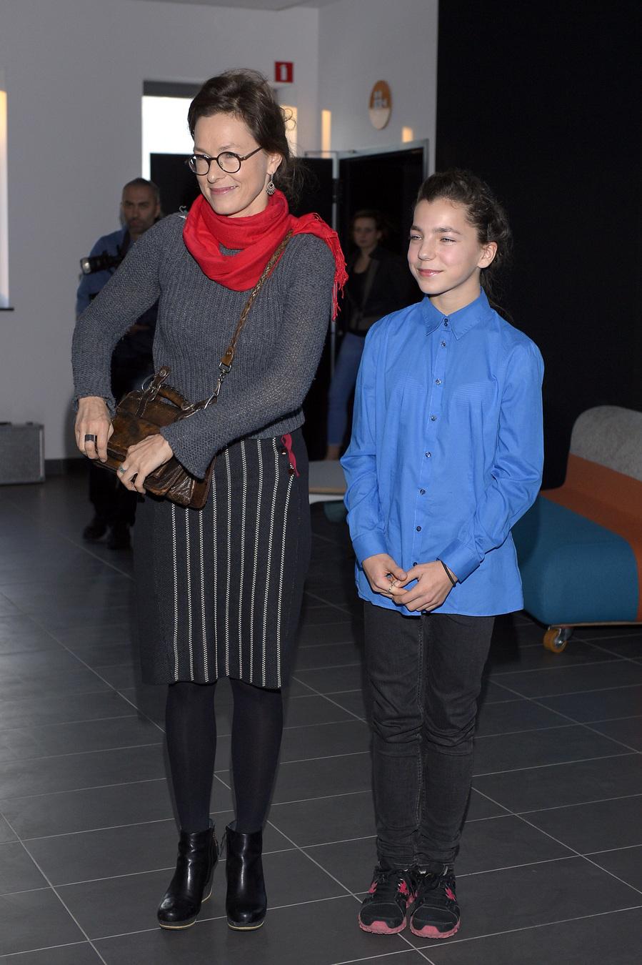 Bronisława Zamachowska z mamą, Aleksandrą Justą